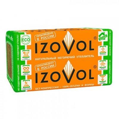 Теплоизоляция Izovol Ст-50 1000х600х100 мм 4 плиты в упаковке