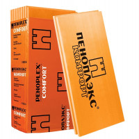 Теплоизоляция Пеноплэкс Комфорт 1185х585х50 мм 7 плит в упаковке