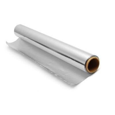 Фольга алюминиевая для бани 50 мкм 12 м2
